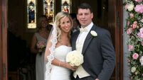 Leamy swaps green and red jerseys for wedding suit