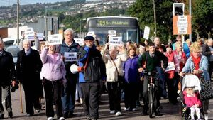 Fury at axing of bus route