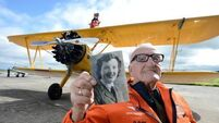 Tom, 93, flies into record books