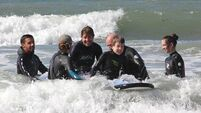 Camp-goers ride crest of a wave as progress seen in children with autism