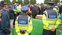 Heavy security at funeral of dissident republican Larry Keane