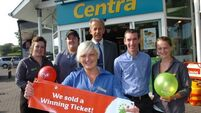 Lotto win has town abuzz