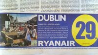 Ryanair uses photo of 'beautiful' Cork to lure the French to Dublin