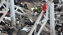 Roof collapse death toll   hits 45