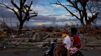 Typhoon survivors still battling for survival