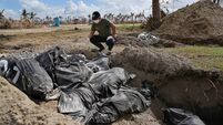 Counting the dead a haunting experience after Haiyan