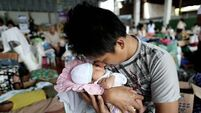 New arrival a moment of joy amid Haiyan tragedy