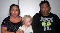 Mother gave up 'blonde angel' says Roma pair