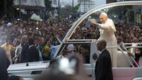 Security fears mar  Pope's visit  to Brazil