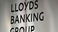Lloyds' quarterly net loss grows to €1.3bn