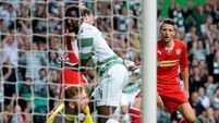Celtic ease past Reds' challenge