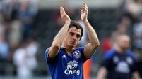 United in battle for Baines