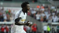 Bony doubles up on Swans debut