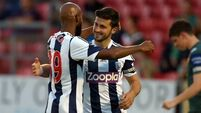 Anelka nicks Long's glory as Baggies hit six