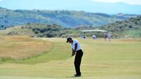 Tiger impresses as Muirfield minefield scaring   the stars