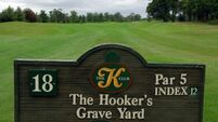 Ryder Cup course at K Club tops Irish parkland poll
