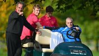 McGinley keeping watch as Europe storm ahead