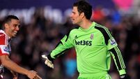Stunned Begovic joins the goalscoring goalkeepers club