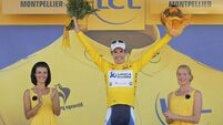 Tour milestone in Montpellier as Impey takes yellow jersey