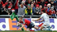 Five points and  five tries  as rampant Reds pound Perpignan