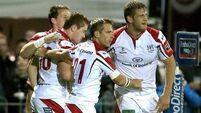 Anscombe happy as Ulster up and running
