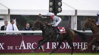 Terrific Treve lights up Arc