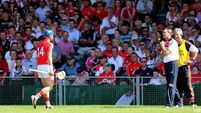 Cork to appeal Horgan's red