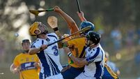 Clare's late flurry too much for 14-man Waterford