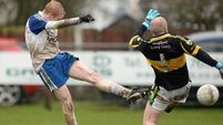 Ballinderry survive after taking foot off the gas