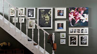 Try framing sentimental items as a conversation piece