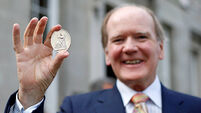 Dr Pearse Lyons adds RDS gold medal to his haul of awards