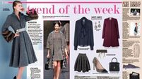 Trend of the week: Seductive yet prim and proper