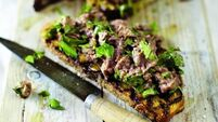 April Bloomfield's Chopped Chicken Liver on Toast