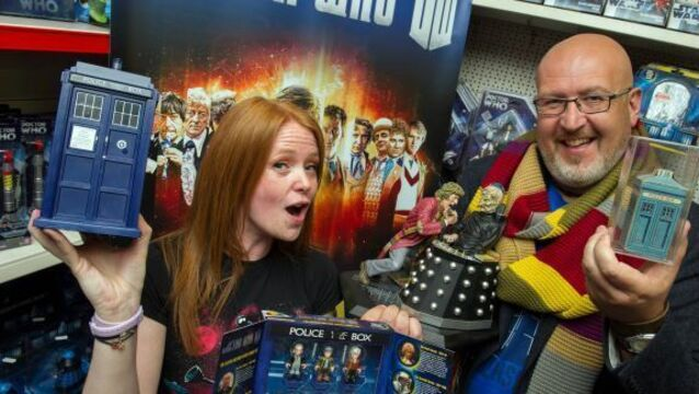 Life long fans say happy 50th birthday Doctor Who