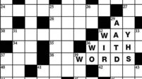 The crossword has it's way with words