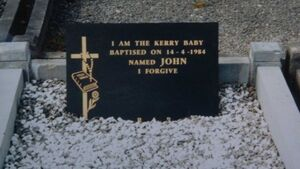 Exhumation 'would resolve' Kerry Babies case