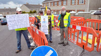 Stand-off as Cork residents vow to continue Irish Water protests