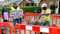 Water campaigners defend  right to protest