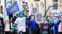 Hundreds on the streets to save North Mon primary school