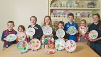 Pupils plate up for proper food portions and a healthy future