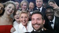 Pizza, politics, and selfies... but epic film steals the Oscars