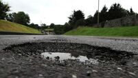 Council to use €1.2m of its reserves to fix potholes