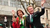 Flatley hops to it as Grand Marshal of Cork parade