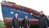 Crew's descendants restoring the 'Mary Stanford' lifeboat