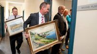 Search on for owners of stolen artwork