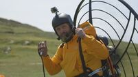 Flying from Mizen to Malin by paramotor makes history