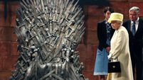 Queen not game as she resists invite to sit on throne