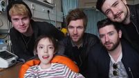 Kodaline take time out to serenade children of Temple Street Hospital