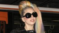 Quirky World ... Lady Gaga gets friend to vomit on her
