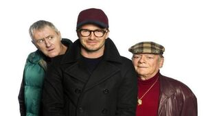 Beckham shines in 'Only Fools & Horses' sketch as Sport Relief breaks record